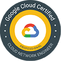 Google Cloud Certified Cloud Network Engineer}