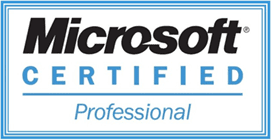 Microsoft certified professional}